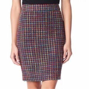 Kate Spade Judy Multi-Color Tweed Skirt - sz 8